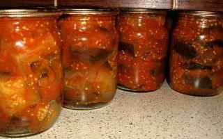 Салат из баклажанов и кабачков на зиму, рецепт с фото – все о помидорках