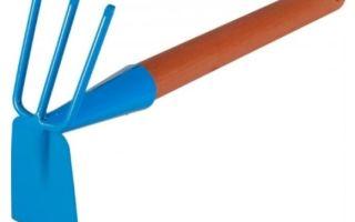 О мотыге: тяпка, мототяпка, плоскорез для прополки огорода от сорняков