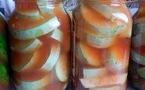 Кабачки с кетчупом чили на зиму в литровых банках без стерилизации, пошаговый рецепт – все о помидорках