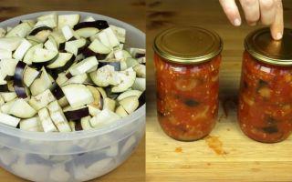 Cалат из баклажанов по-татарски на зиму, рецепт с фото – все о помидорках