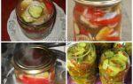 Салат из огурцов и помидоров на зиму с луком и растительным маслом – все о помидорках