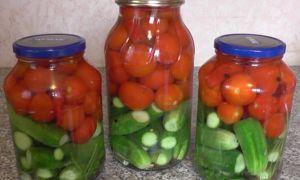 Ассорти из огурцов и помидоров на зиму, самый вкусный рецепт без стерилизации – все о помидорках