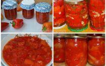 Перец в томате на зиму: рецепт сладкий, самый вкусный – все о помидорках