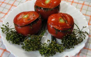 Малосольные помидоры с чесноком и зеленью быстрого приготовления – все о помидорках