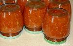 """Аджика из кабачков с томатной пастой на зиму, рецепт с фото """"пальчики оближешь"""" – все о помидорках"""