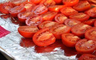 Как сушить помидоры в домашних условиях – все о помидорках