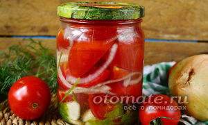Помидоры дольками с луком и маслом на зиму без стерилизации, рецепт – все о помидорках