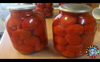 Помидоры маринованные на зиму: 4 очень вкусных сладких рецепта – все о помидорках