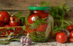 Помидоры с морковной ботвой на зиму: рецепт на 1 литровую банку – все о помидорках