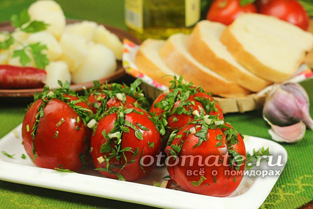 Помидоры по армянски рецепт с фото пошагово - 1000.menu