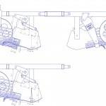 О картофелекопалке своими руками: чертежи самодельной копалки для лебедки