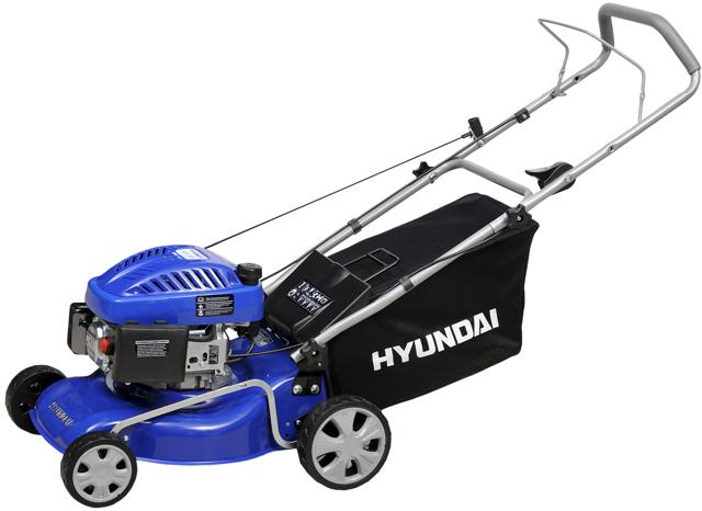 О газонокосилке хендай (нyundai): бензиновой самоходной и электрической