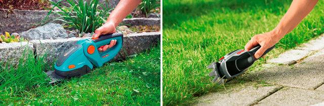 О ножницах садовых аккумуляторных: электрических для стрижки травы, кустов
