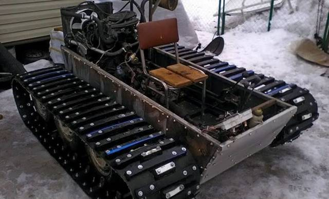 О гусеничном минитракторе: самодельный мини трактор на гусеничном ходу