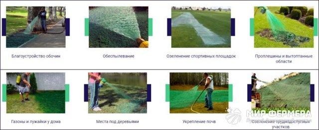 О гидропосеве газона своими руками: описание, технология посадки, инструкция