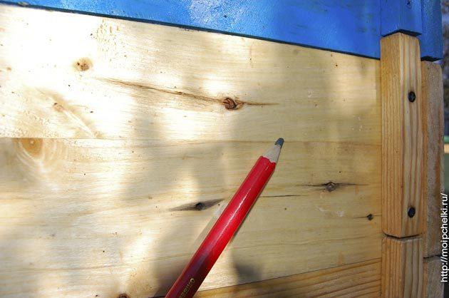 О рогатом улье, чертежи на 10 рамок своими руками, метод выходного дня