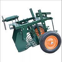 О картофелекопалке для мотоблока агро: грохотного типа, механической барабанной